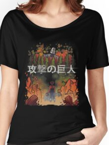 Attack on giant Women's Relaxed Fit T-Shirt