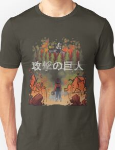 Attack on giant Unisex T-Shirt