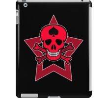 Red Punk Skull iPad Case/Skin