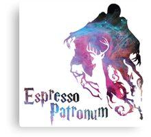 Espresso patronum typo Canvas Print