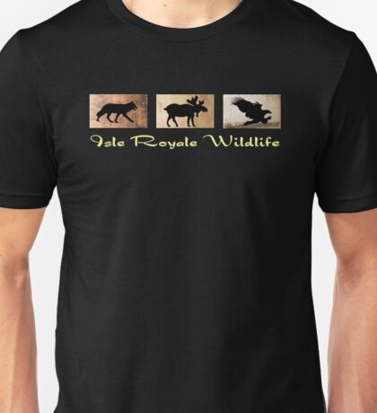 Isle Royale Wildlife Unisex T-Shirt