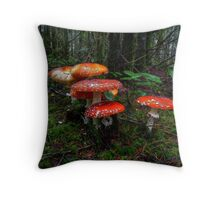 The Reds Are Here Throw Pillow