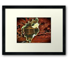 Dislocated Day Framed Print