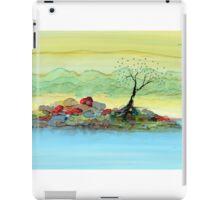 Solitude on a Rocky Shoal iPad Case/Skin
