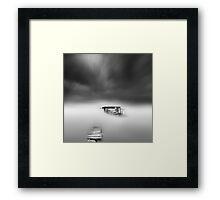 misty scapes Framed Print