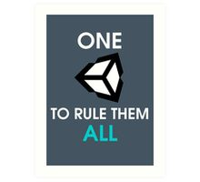 One Unity to rule them all Art Print