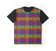 Over the Rainbow Plaid Graphic T-Shirt