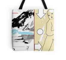 squash blossoms and cowbells - parting glances parting waves parting company or farting bubbles Tote Bag