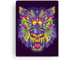 Rainbow Tiger Canvas Print