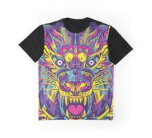 Rainbow Tiger Graphic T-Shirt