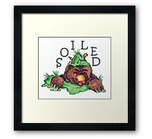 Soiled shirt (Drawn) Framed Print