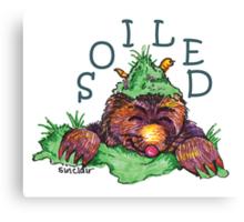 Soiled shirt (Drawn) Canvas Print