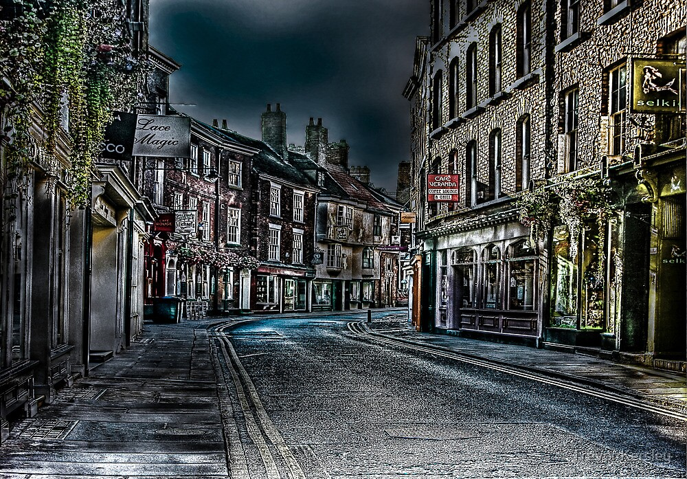 Evening in Low Petergate by Trevor Kersley