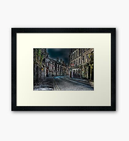 Evening in Low Petergate Framed Print