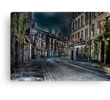 Evening in Low Petergate Canvas Print
