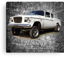 Loosey Canvas Print