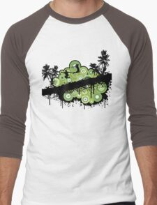 street scene 3 Men's Baseball ¾ T-Shirt