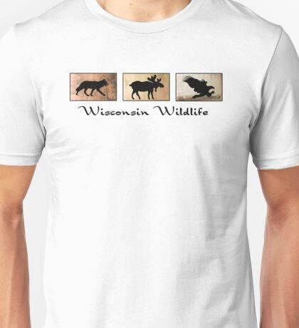 Wisconsin Wildlife Unisex T-Shirt