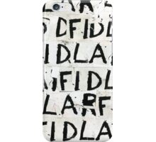 FIDLAR Cover iPhone Case/Skin