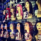Wig Shop Window - New York City by SylviaS