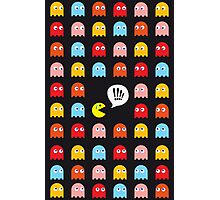 Pac-Man Trapped Photographic Print