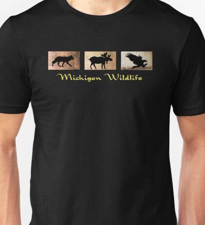 Michigan Wildlife Unisex T-Shirt