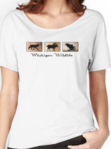 Michigan Wildlife Women's Relaxed Fit T-Shirt