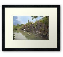 Albert Falls HDR Framed Print
