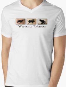 Montana Wildlife Mens V-Neck T-Shirt