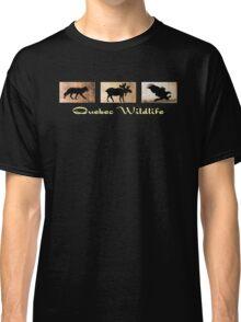 Quebec Wildlife Classic T-Shirt