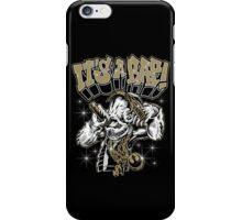 Rebel Jedi Hip Hop - It's A Rap! iPhone Case/Skin