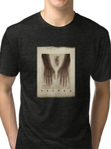 Hands X-ray 2 (actual 1960s x-ray) Tri-blend T-Shirt