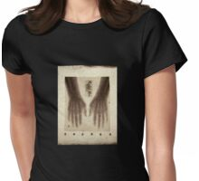 Hands X-ray 2 (actual 1960s x-ray) Womens Fitted T-Shirt