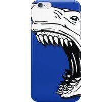 Angry Shark Art Logo Design iPhone Case/Skin