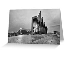 Glasgow Riverside Transport Museum Greeting Card