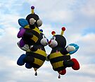 """Bee Family """" In Light of all the Buzz"""" by Paul Albert"""