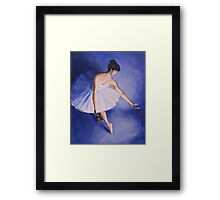 The Courtsey Framed Print