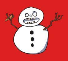 Beware the CRAZY SNOWMAN Kids Clothes