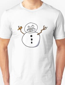 Beware the CRAZY SNOWMAN T-Shirt