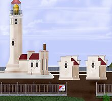North Head Lighthouse by AVNorskog
