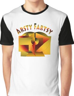 Just Being Artsy Fartsy Graphic T-Shirt