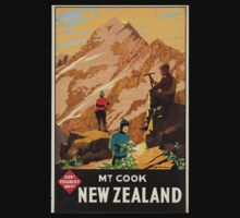 Vintage poster - New Zealand Kids Clothes