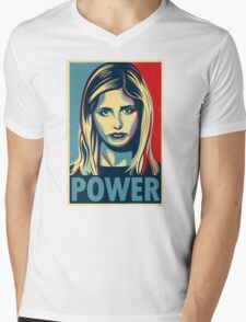 Power Mens V-Neck T-Shirt
