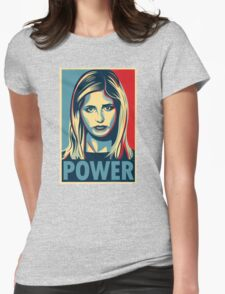 Power Womens Fitted T-Shirt