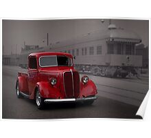 1937 Ford Pickup Truck Poster