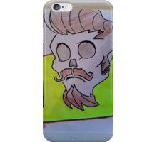 hispter skull iPhone Case/Skin