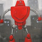 Retro Robot #4 by Lee Twigger