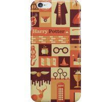 Harry potter All logo iPhone Case/Skin