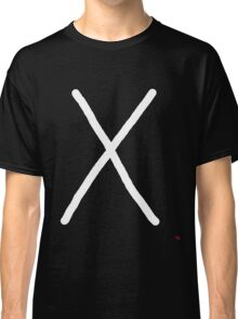 Gebo – Rune Meaning gifts, giving, taking, trade, sacrifice, process of exchange, balance Classic T-Shirt