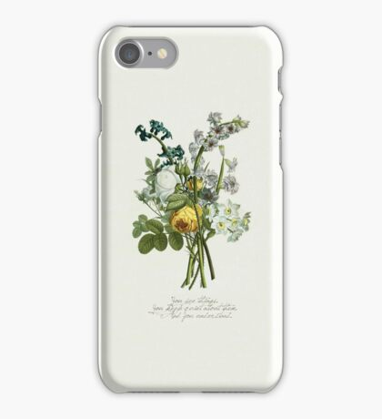 The Perks... - flower case iPhone Case/Skin